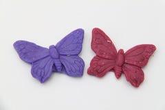 Mandelfjärilar royaltyfri fotografi