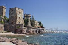 Mandelieu-la Napoule Castle, South of France Royalty Free Stock Image