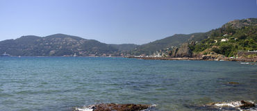 Mandelieu-la Napoule Coast , South of France Royalty Free Stock Images