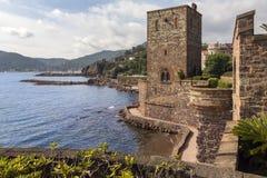 Mandelieu-la-Napoule - franska Riviera - Frankrike Arkivfoton