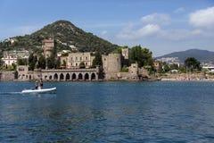 Mandelieu-La-Napoule - französisches Riviera - Frankreich Lizenzfreie Stockfotos