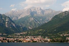 Mandello De Lario At Lake Como Royalty Free Stock Image