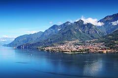 Mandello del Lario, lac Como, Italie photographie stock