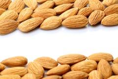 Mandeln nuts Lizenzfreies Stockfoto
