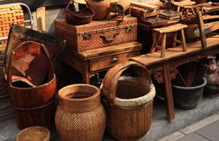 Mandenmakerij Royalty-vrije Stock Afbeelding