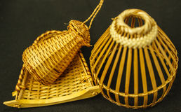 mandenmakerij Royalty-vrije Stock Foto
