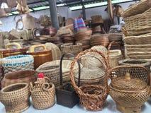mandenmakerij stock afbeeldingen