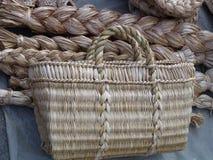 Mandenmakerij van wijnstokken Royalty-vrije Stock Afbeeldingen