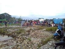 Mandi Balimau fotografia stock libera da diritti