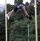 Mandich Vlavislav wins pole vault Stock Images
