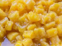 Mandioca no xarope Fotografia de Stock Royalty Free