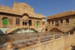 Mandir宫殿在Jaisalmer 免版税图库摄影