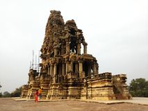 Mandir de Shiva - morena, Madhya Pradesh, la India fotografía de archivo
