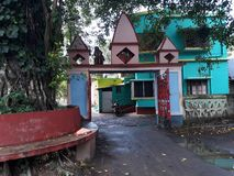 ancient mandir gate royalty free stock photos