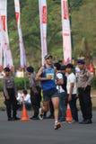 Mandiri雅加达马拉松2014年 免版税库存照片