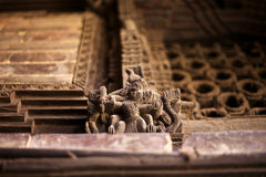 Mandkesvara Woodcarving Fotografia Stock