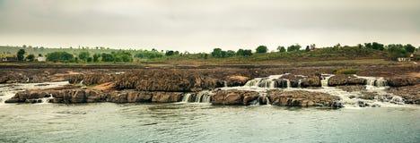 Mandla de chutes de l'eau de Sahastradhara Photos libres de droits