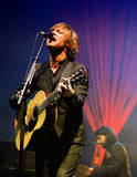 Mando Diao, wykonuje przy Santander Amstel festiwalem muzyki (zespół) Fotografia Stock