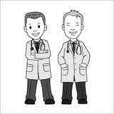 Mandoktor Stock Vector Ilustration stock illustrationer