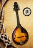 mandolin Arkivbild