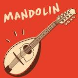 Mandolin vector stock illustration