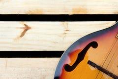 Mandolin background Stock Images