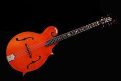 Mandolin on black background. Mandolin isolated on black background Stock Photography