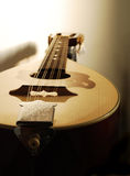 Mandolin closeup Stock Images