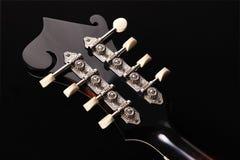 Mandolin isolated on black background Royalty Free Stock Photos