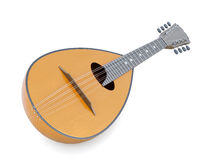 Mandolin musical instrument . 3d rendering Stock Images