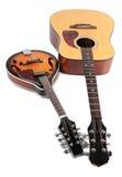 Mandolin och gitarr Royaltyfri Bild