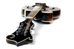 Mandolin on White Royalty Free Stock Image