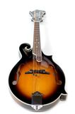 Mandolin on White Royalty Free Stock Images