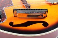 Mandolina i harfa Zdjęcie Royalty Free