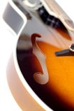 Mandoline auf Weiß Lizenzfreie Stockfotografie