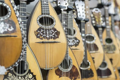 mandolines Photographie stock