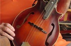 Mandolino-annata immagine stock