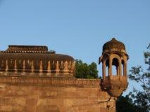 Mandore庭院,乔德普尔城,拉贾斯坦,印度 图库摄影