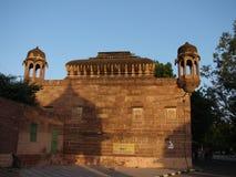 Mandore庭院,乔德普尔城,拉贾斯坦,印度 免版税库存照片