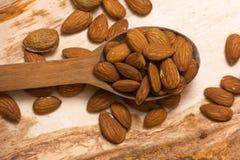Mandorle nuts Fotografia Stock