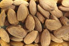Mandorle salutari e nutrienti Fotografia Stock