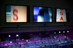 Mandos de vuelo de la NASA Apolo Imágenes de archivo libres de regalías