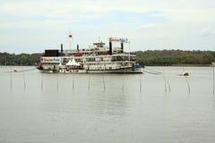 Mandovi河的赌博娱乐场 免版税图库摄影