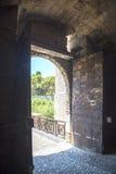Mandraki, Città Vecchia, Rodi Fotografia Stock
