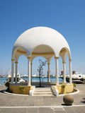 Mandraki embankment pavilion Royalty Free Stock Images