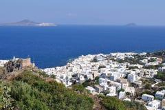 Mandraki,Nissyros,Greece Royalty Free Stock Image