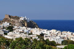Mandraki,Nisyros Royalty Free Stock Photos