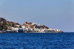 Mandraki port Nisiros Stock Images