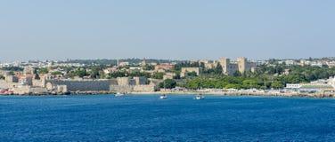 Mandraki, Rhodes Photo libre de droits