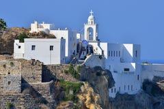 Mandraki, wyspa Nisyros, Grecja Obraz Royalty Free